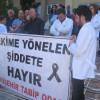 Dr. Ersin Arslan'ı unutmayacağız ve şiddete karşı mücadele edeceğiz.