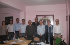 23 Mayıs 2012 tarihinde Makina Mühendisleri Odası Yönetim Kurulu Odamızı ziyaret etti.