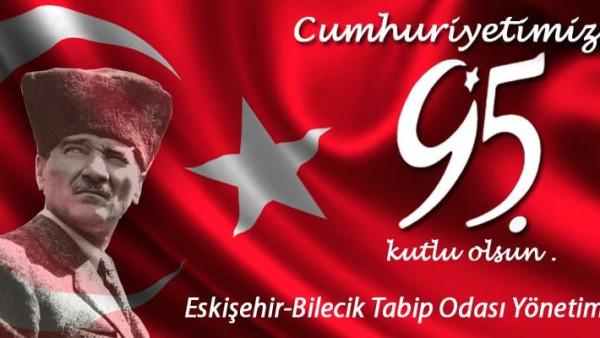 Cumhuriyetimizin 95. yılı kutlu olsun