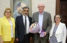 EBTO'dan Başkan Kurt'a tebrik ziyareti