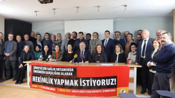 TTB'nin 11 Ocak-17 Nisan eylem takvimi, tabip odaları temsilcilerinin de katıldığı basın toplantısıyla açıklandı