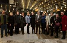 Eskişehir Bilecik Tabip Odası Yönetim Kurulumuz, Eskişehir Hemşireler Derneği ile buluştu.