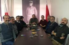 Eskişehir Bilecik Tabip Odası Yönetim Kurulumuz, Eskişehir Bilecik Veteriner Hekimleri Odasını ziyaret etti.