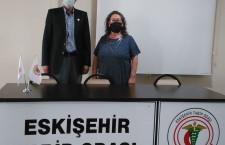 İyi Parti Eskişehir milletvekili Sayın Dr. Arslan Kabukçuoğlu odamızı ziyaret etti.